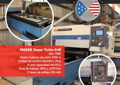 MAZAK SUPER TURBO - X48