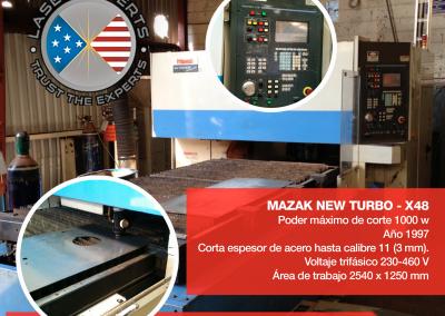 MAZAK NEW TURBO - X48